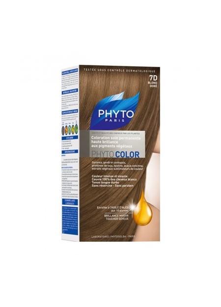 PHYTO PHYTOCOLOR, 7d Blond doré