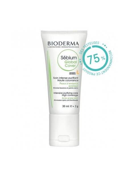 BIODERMA SÉBIUM, Global Cover - 30 ml