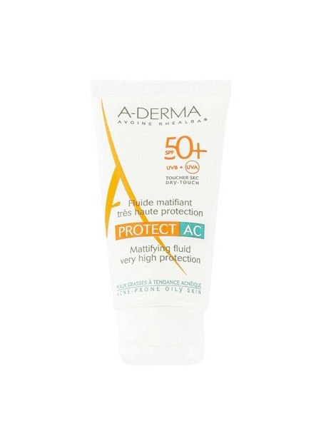 A-DERMA PROTECT AC Fluide SPF50+ - 40 ml