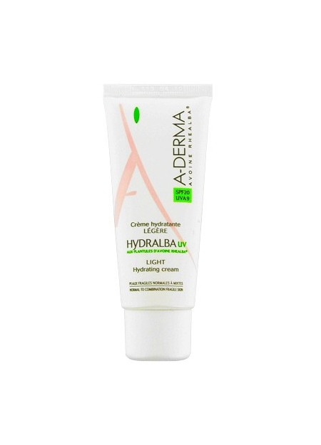A-DERMA HYDRALBA UV Crème Hydratante Légère SPF20 - 40 ml