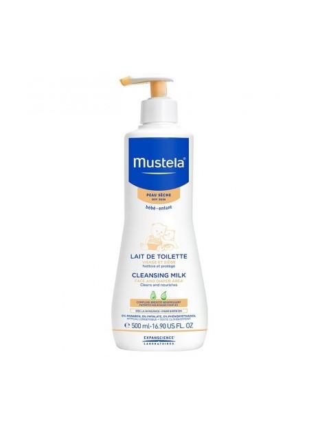 MUSTELA PEAUX SECHES, Lait Toilette - 500 ml