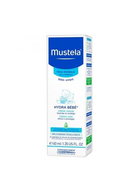 MUSTELA PEAUX NORMALES, Hydra Bébé Crème - 40 ml