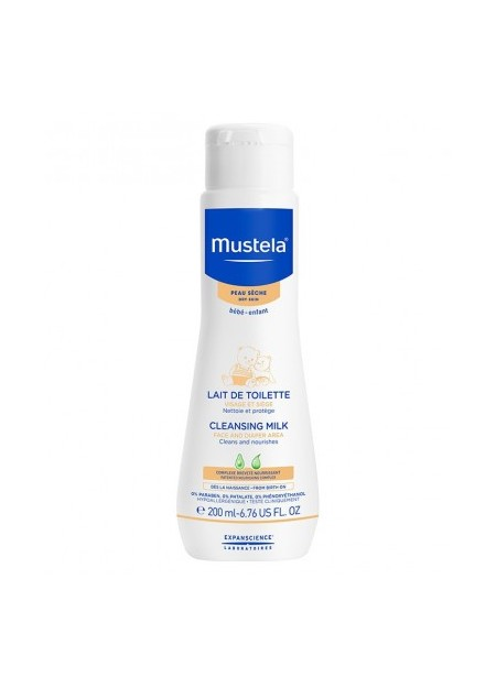 MUSTELA PEAUX SECHES, Lait Toilette - 200 ml