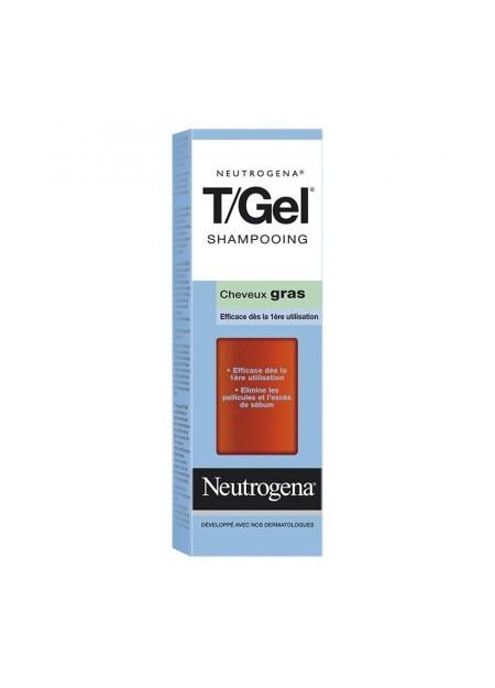 NEUTROGENA T/GEL, Shampooing Cheveux Gras - 250 ml
