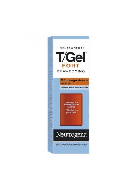 NEUTROGENA T/GEL FORT, Shampooing démangeaisons Intenses - 250 ml
