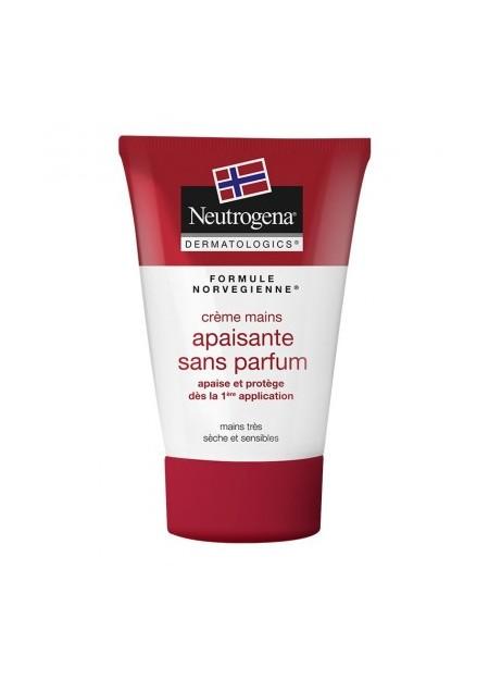 NEUTROGENA Crème Mains Apaisante Sans Parfum - 50 ml