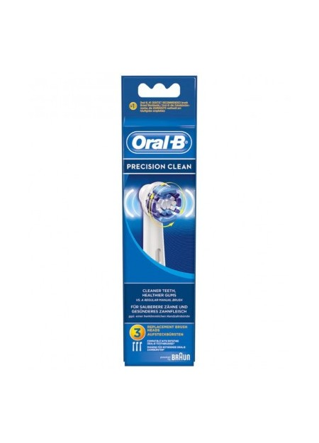 ORAL B Lot de 3 brossettes Precision Clean - 3 unités