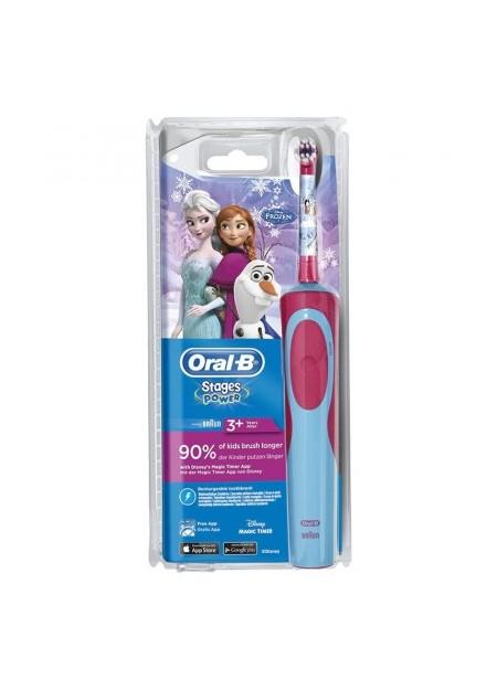 ORAL B Brosse à dents électrique Stages Power Reine des Neiges - 1 unité