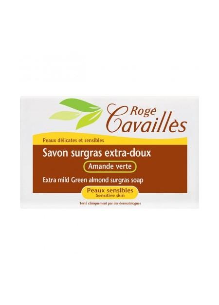 ROGÉ CAVAILLES Savon surgras extra-doux Amande Verte 150g