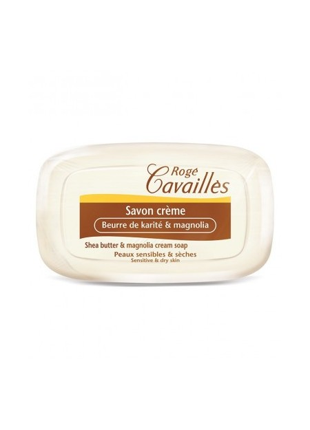 ROGÉ CAVAILLES SAVONS SOLIDES, Savon Creme Karite & Magnolia - 115g