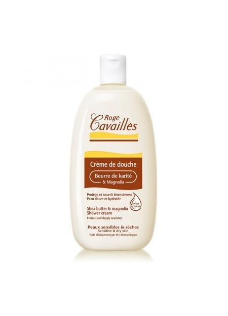 ROGÉ CAVAILLES DOUCHE SOIN, Creme de Douche Beurre de Karite et Magnolia - 500 ml