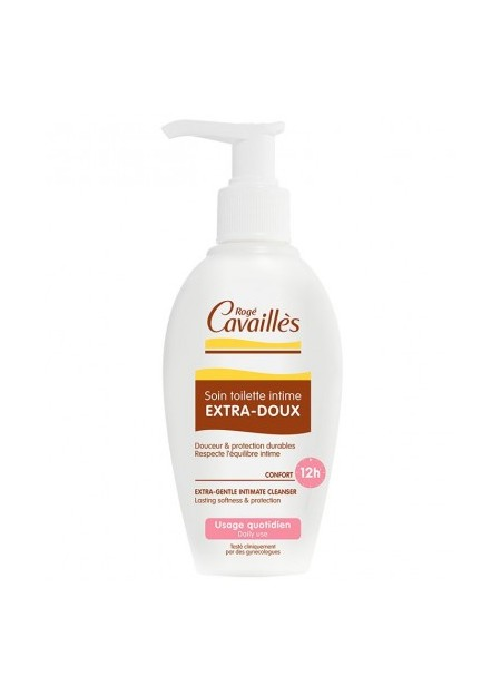 ROGÉ CAVAILLES HYGIENE INTIME, Soin Toilette Intime Extra Doux - 200 ml