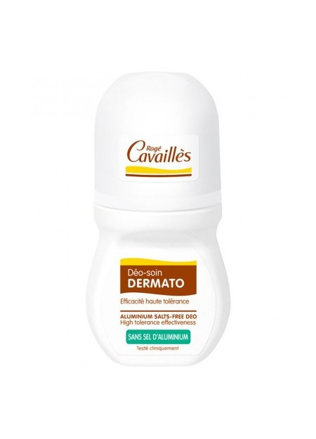 ROGÉ CAVAILLES DEODORANTS, Deo-Soin Roll On Dermatologique - 50 ml