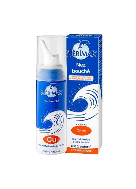 STERIMAR Hypertonique Nez Bouché - Flacon 100 ml