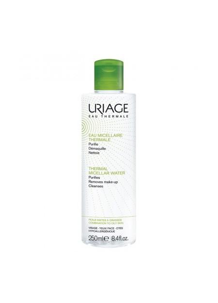 URIAGE HYGIÈNE, Eau Micellaire Thermale peaux mixtes à grasses - 250 ml