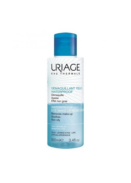 URIAGE HYGIÈNE , Démaquillant Yeux Waterproof - 100 ml