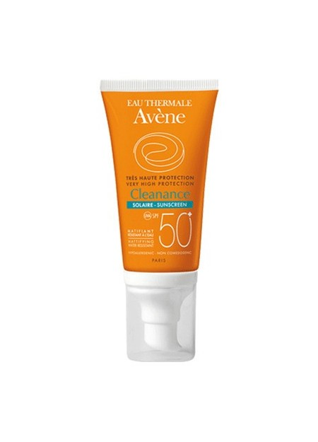 AVENE CLEANANCE, Protection solaire matifiante SPF50+ - 50 ml