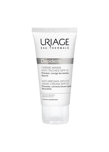 URIAGE DEPIDERM Crème Mains Anti-taches SPF15 - 30 ml