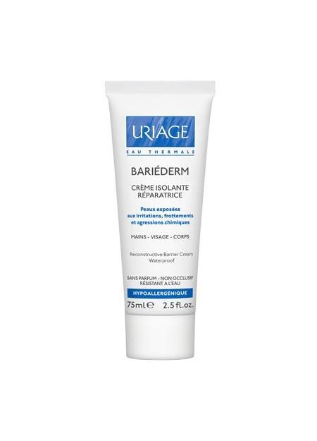 URIAGE BARIEDERM Crème Isolante Réparatrice. Tube 75ml
