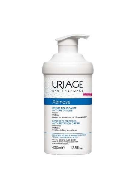URIAGE XÉMOSE Crème Relipidante Anti Irritations - 400 ml