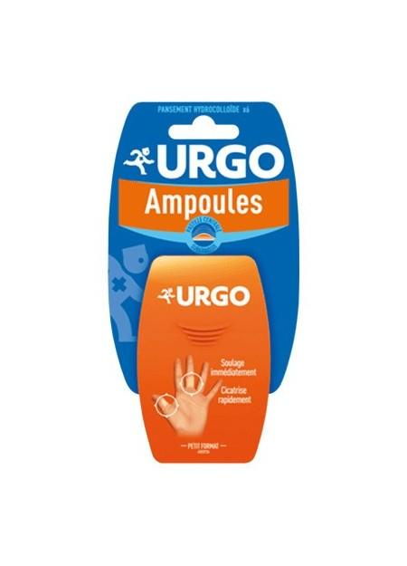 URGO Traitement ampoules doigt et orteil seconde peau. Bt 6 pansements