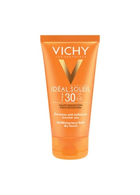 VICHY IDEAL SOLEIL Emulsion anti-brillance visage SPF30 - 50 ml