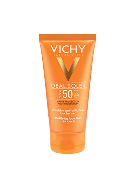 VICHY CAPITAL SOLEIL Emulsion anti-brillance visage SPF50 - 50 ml