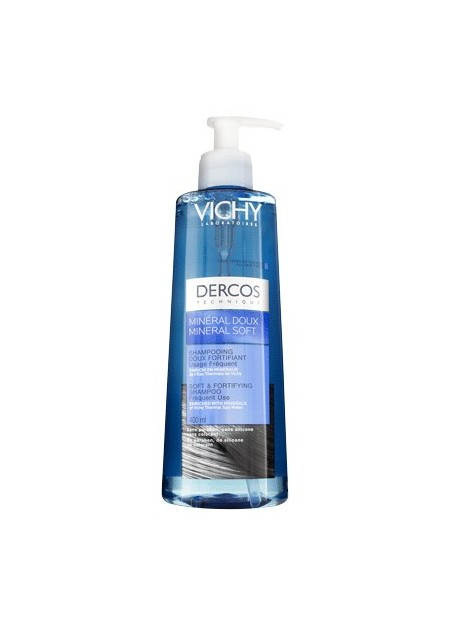 VICHY DERCOS MINERAL DOUX Shampooing Doux Fortifiant - 400 ml