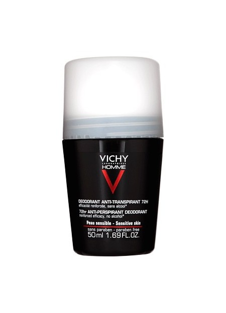 VICHY HOMME Déodorant Anti-Transpirant 72H Contrôle Extrême - 50 ml