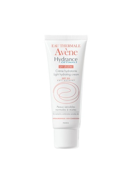 AVENE HYDRANCE OPTIMALE, Crème hydratante UV légère SPF20 - 40 ml