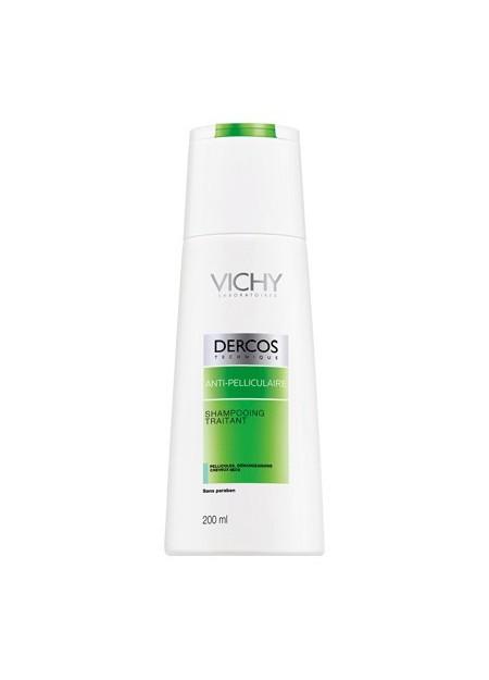VICHY DERCOS Anti-pelliculaire Sampooing Traitant Cheveux Secs - 200 ml