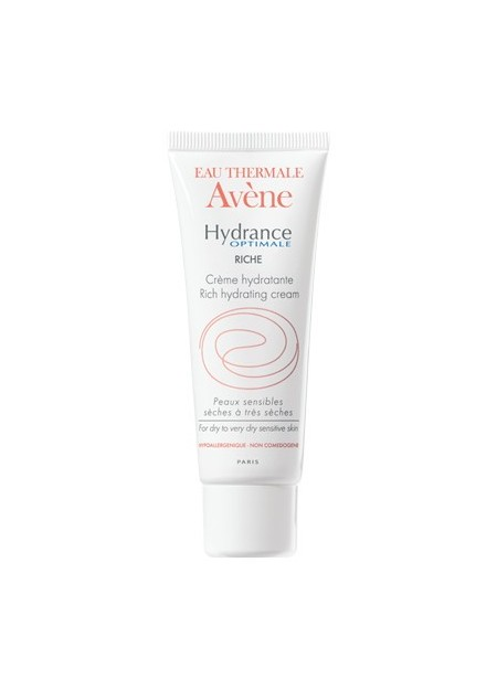 AVENE HYDRANCE OPTIMALE, Crème hydratante riche - 40 ml