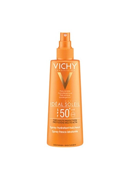 VICHY Capital Soleil Spray SPF50+ visage et corps. 200 ml