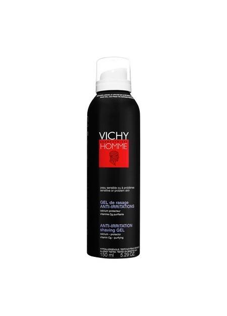 VICHY HOMME, Gel de rasage Peaux sensibles - 150 ml