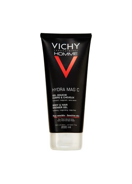 VICHY HOMME HYDRA MAG-C Gel douche Hydratant - 200 ml