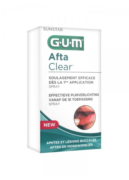 GUM Afta Clear Spray 15 ml
