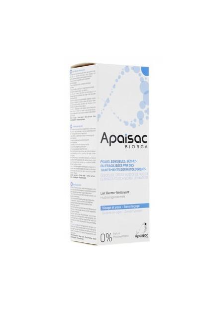 Apaisac Biorga lait dermo-nettoyant 200 ml