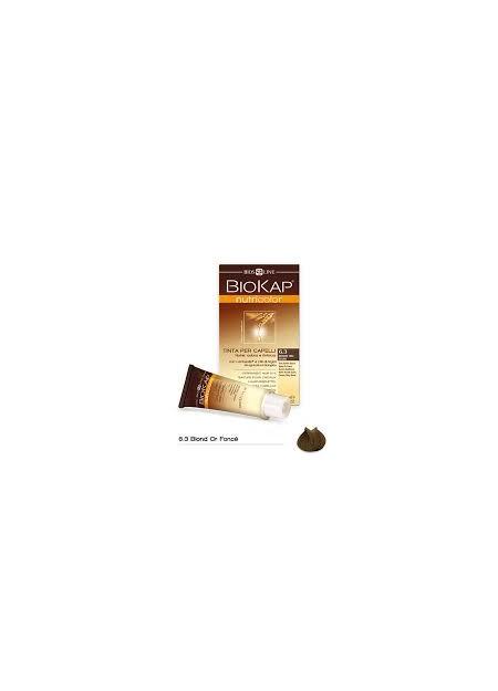 BIOKAP NUTRICOLOR TEINTURE POUR CHEVEUX BLOND OR FONCÉ 6.3