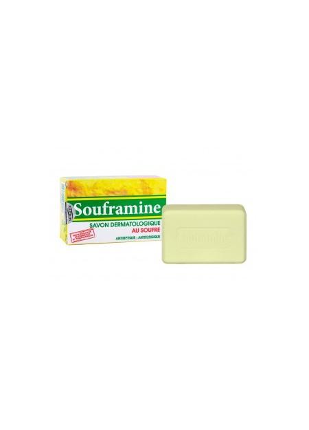 NATURESOIN SOUFRAMINE SAVON DERMATOLOGIQUE AU SOUFRE 90G