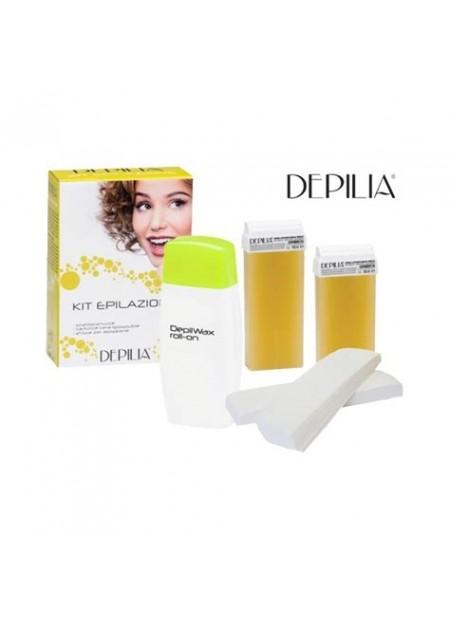 Depilia Kit épilation chauffe-cire titane