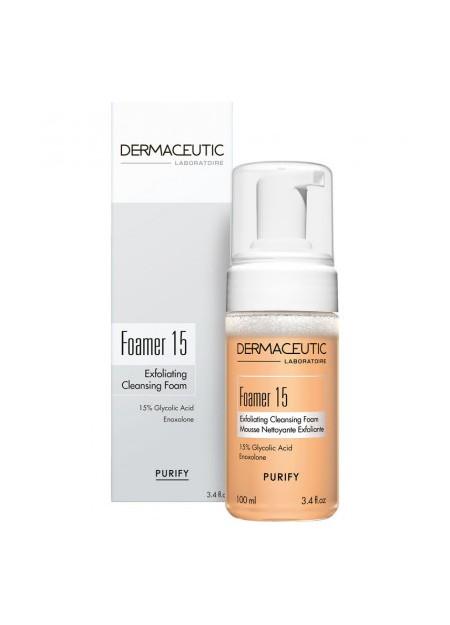 DERMACEUTIC FOAMER 15 Nettoyant Dermatologique. Fl 100 ml