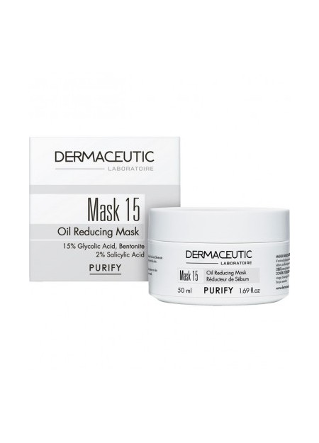 DERMACEUTIC MASK 15 Masque Nettoyant. Pot 50ml
