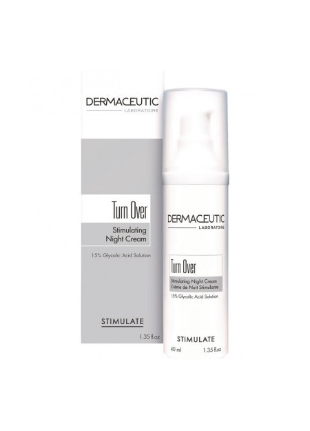 DERMACEUTIC TURNOVER Soin de Nuit. Fl airless 40 ml