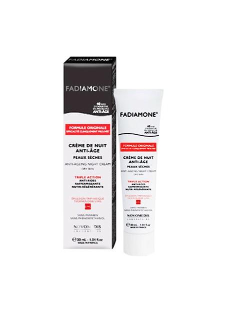 FADIAMONE Crème de nuit  Vieillissement Cutané Hormonal - 30 ml