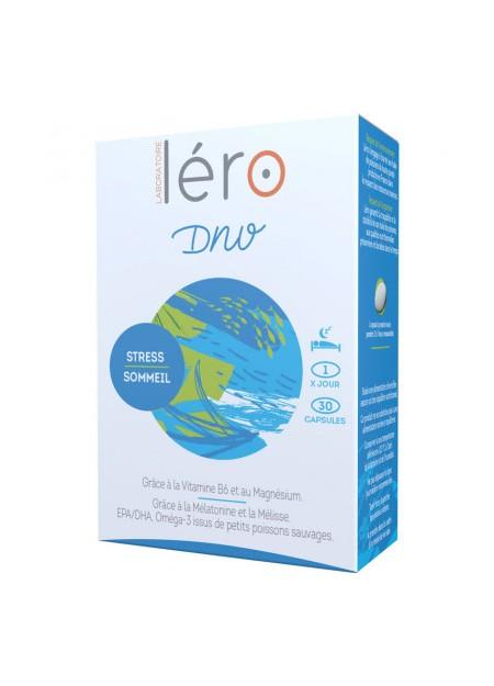LERO DNV Complément Alimentaire Stress et Sommeil. Boîte 30 Caps