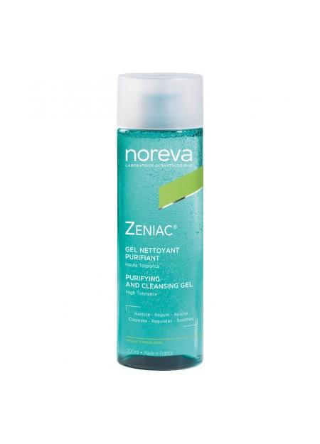 NOREVA ZENIAC Gel Nettoyant Purifiant - 200 ml