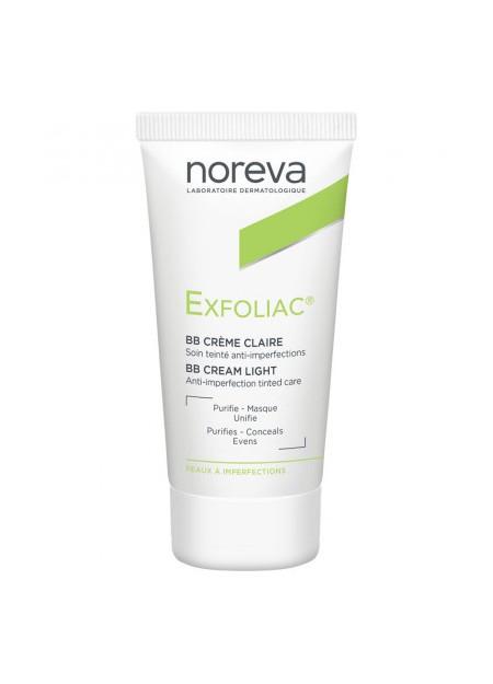 NOREVA EXFOLIAC Crème teintée claire - 30 ml