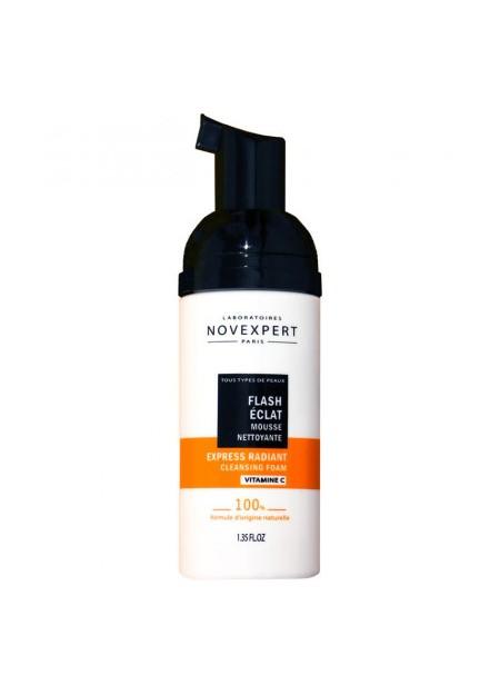 NOVEXPERT FLASH ECLAT, Mousse Nettoyante - 40 ml