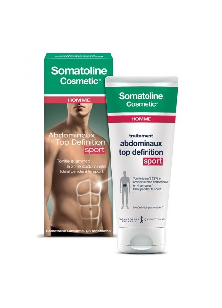 SOMATOLINE COSMETIC Traitement Abdominaux Top Définition Homme Sport - 200 ml