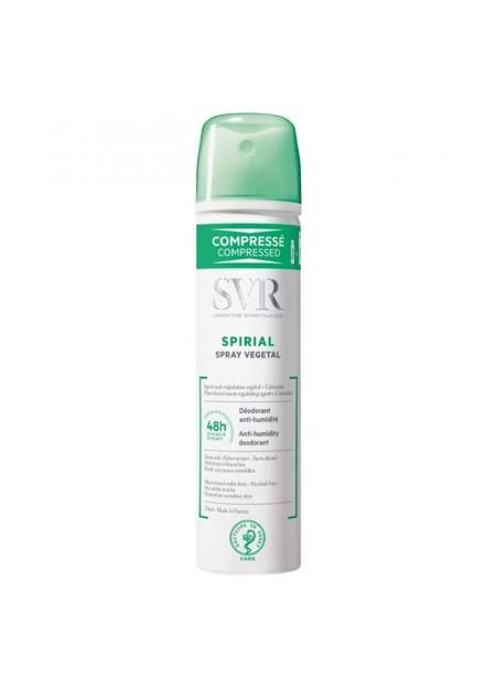 SVR SPIRIAL Déodorant végétal. Spray 75 ml